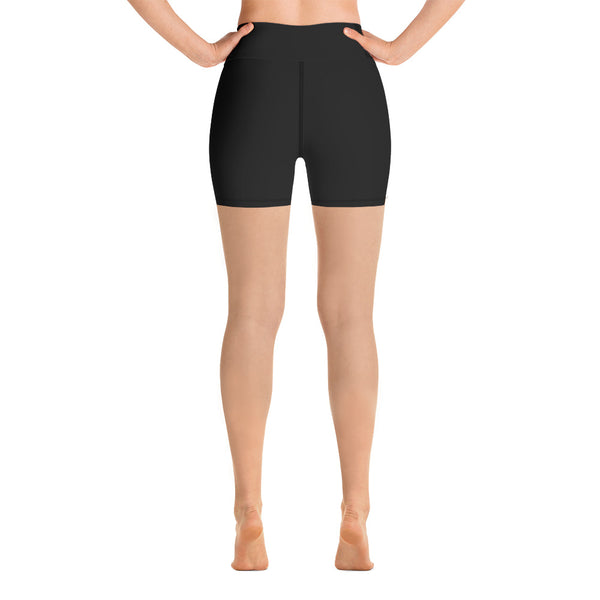 SeventyFive . Black . Yoga Shorts
