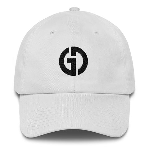 Logo . Unstructured Baseball Cap . White