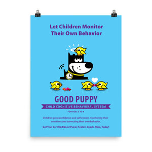 Good Puppy System Practice Promo Poster V . 18x24
