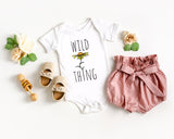 Wild Thing Baby Bodysuit