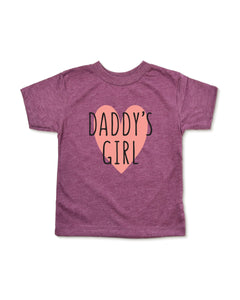 Daddys Girl Toddler Shirt
