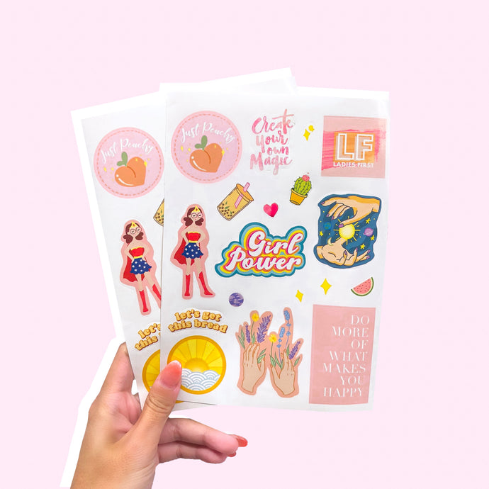 LADIES FIRST STICKER PACK