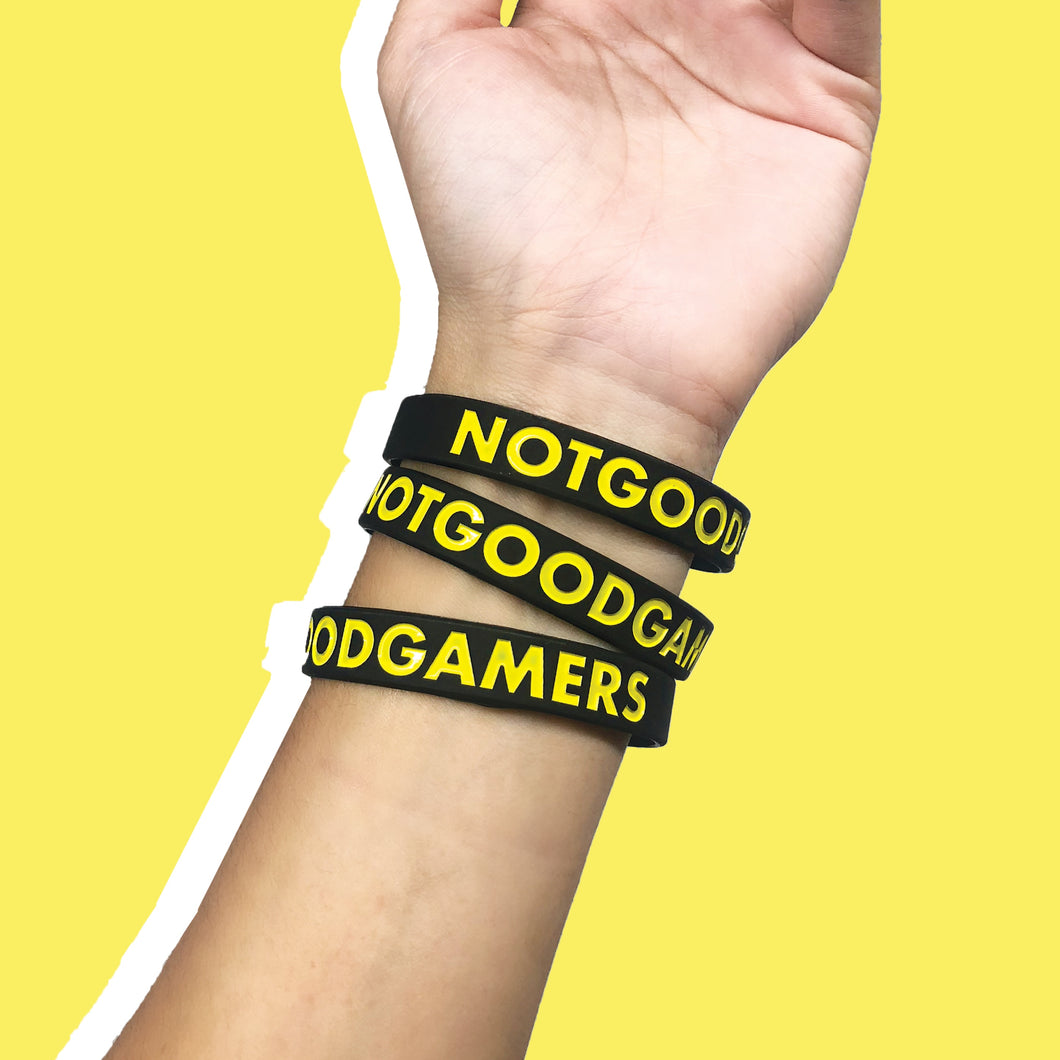 NOTGOODGAMERS WRISTBANDS (SET OF 3)