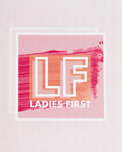 LADIES FIRST NOTEBOOK