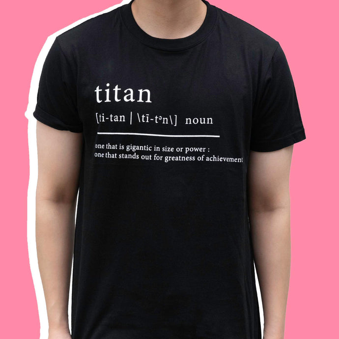 [LIMITED EDITION] TITAN DEFINITION TEE