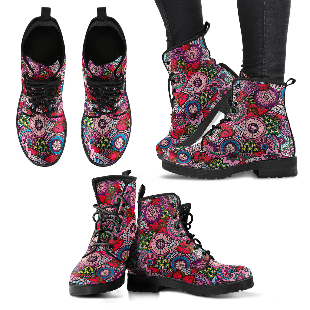 Mandala Paisley Handcrafted Boots
