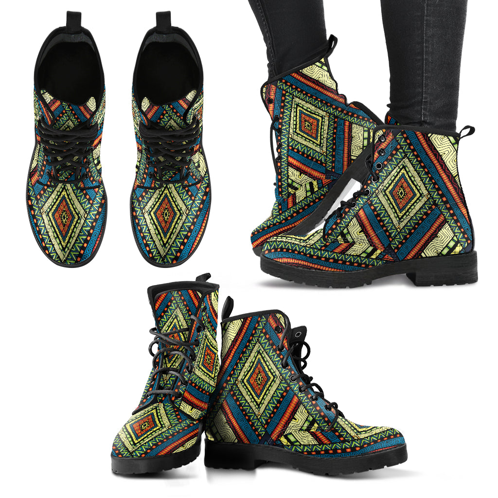 Vintage Tribal Handcrafted Boots