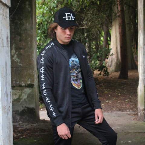 Taped 'FA' Tracksuit-Black - fallenangel-s