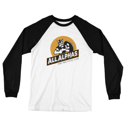 All Alphas Long Sleeve Baseball T-Shirt - Limited Edition