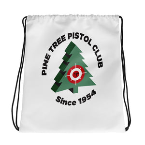 Pine Tree Drawstring bag