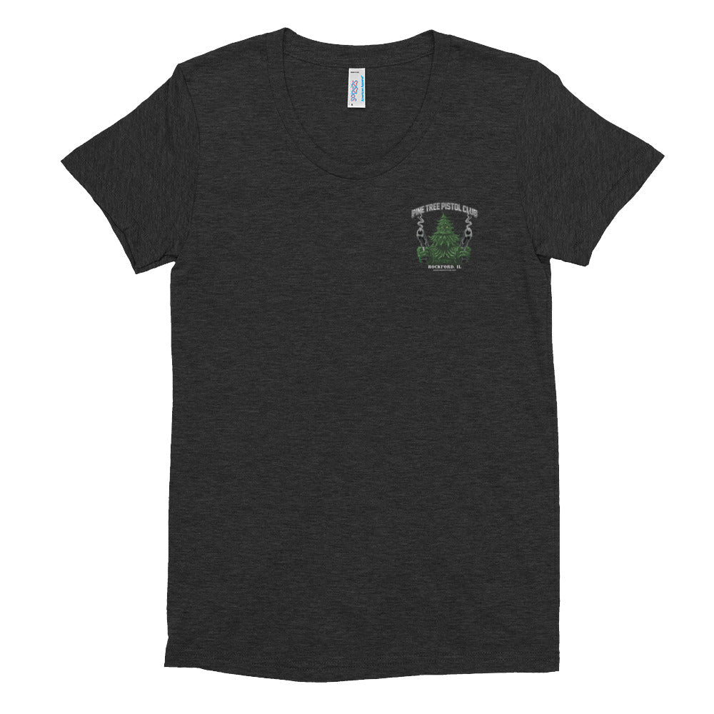 Angry Pine Tree NEW Women's Triblend