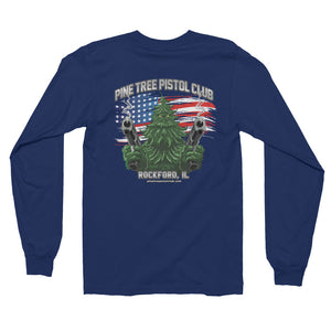 Angry Pine Tree NEW Long sleeve t-shirt