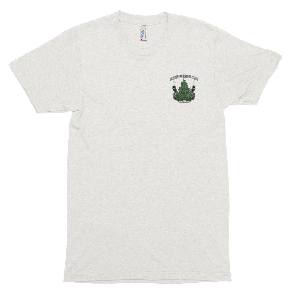 Angry Pine Tree Origins Short sleeve soft t-shirt