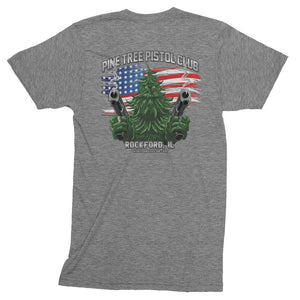 Angry Pine Tree NEW Men's Triblend
