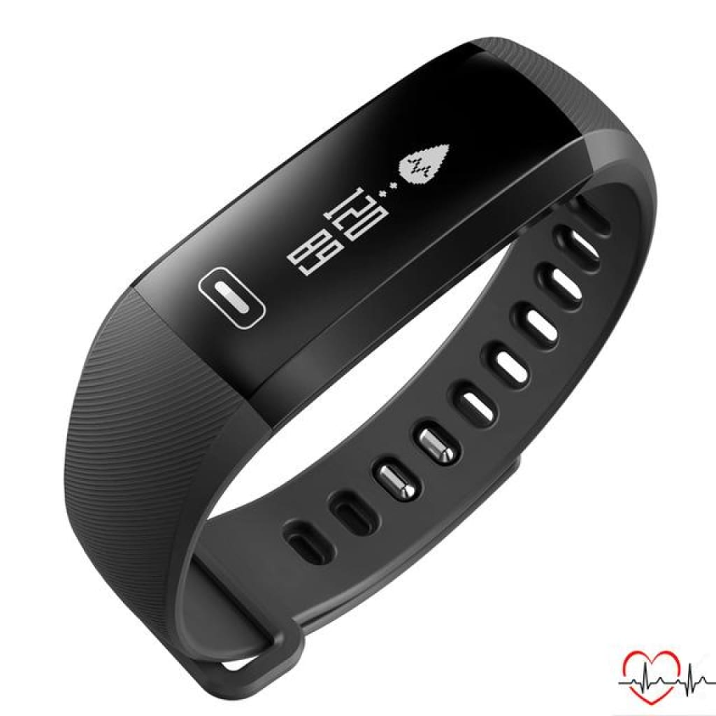 Smart Sport Bracelet Watch Intelligent For Ios Android Black