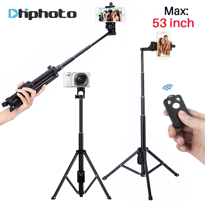 Tripod Selfie Stick with Bluetooth Remote Shutter