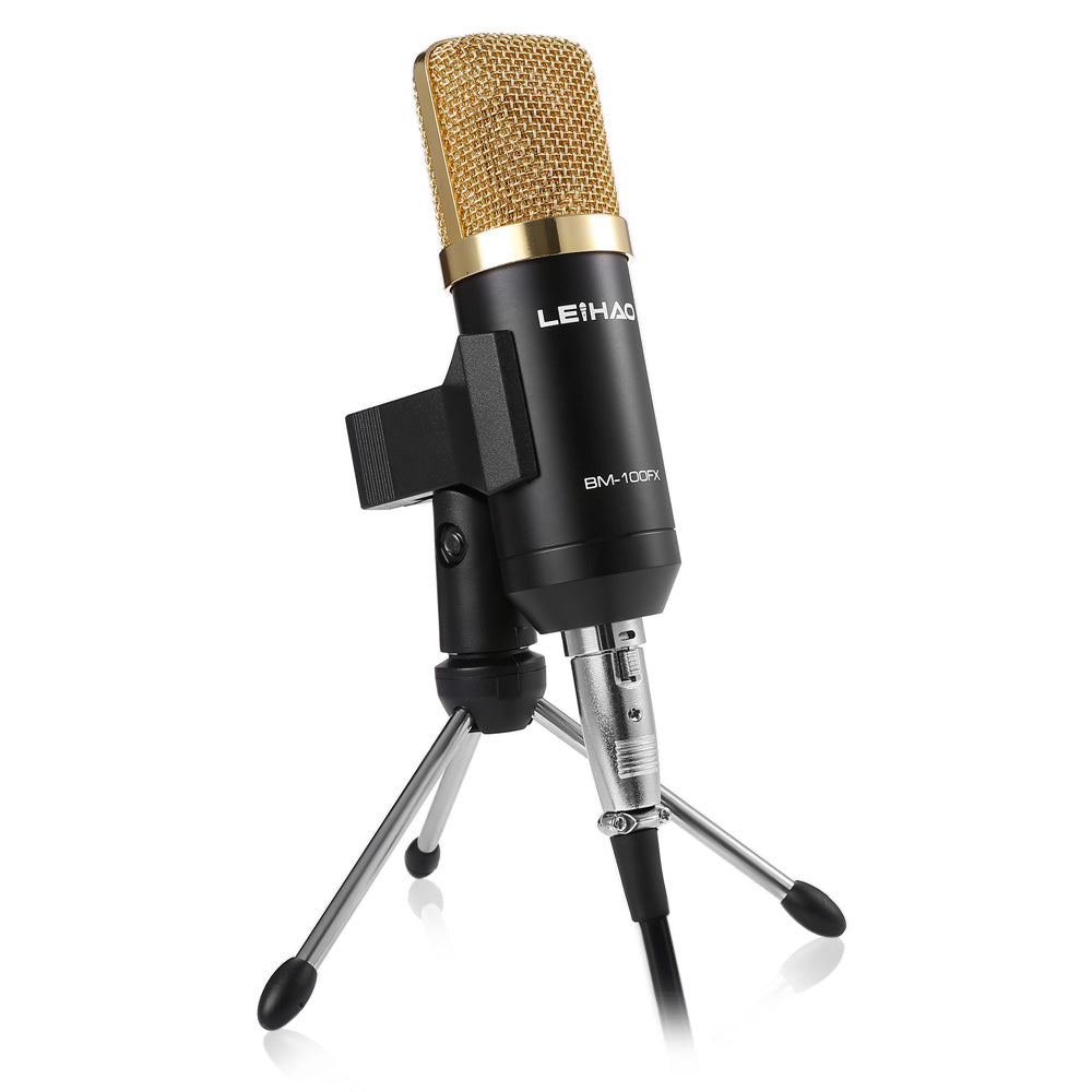 Condenser  Microphone with Shock Mount