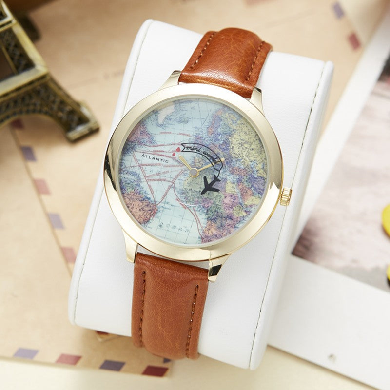 World map clock watch for womens watches kids children girls dilys world map clock watch for womens watches kids children girls dilys sale gumiabroncs Choice Image