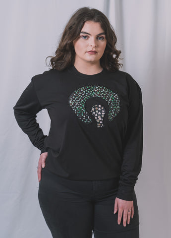 BLACK SAFRO JUMPER