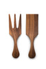 Acacia Wood - Large Farmhouse Salad Utensil Set - Ironwood Gourmet