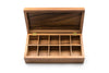 Acacia Wood - Vauxhall Double Tea Box - Ironwood Gourmet