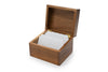 Acacia Wood - Saugatuck Recipe Box - Ironwood Gourmet
