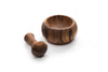 Acacia Wood - Olmec Mortar and Pestle - Ironwood Gourmet