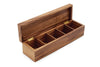 Acacia Wood - Large Vauxhaul Townhouse Tea Box - Ironwood Gourmet