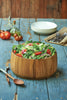 Acacia Wood - Keukenhof Tulip Salad Bowl - Ironwood Gourmet