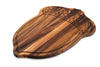 Acacia Wood - Oak Nut Carve & Serve Platter - Ironwood Gourmet