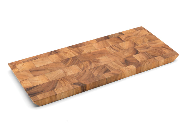 Acacia Wood - Bowery End Grain Cheese and Charcuterie Board - Ironwood Gourmet