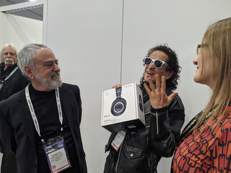 Audio Technica at NAMM!