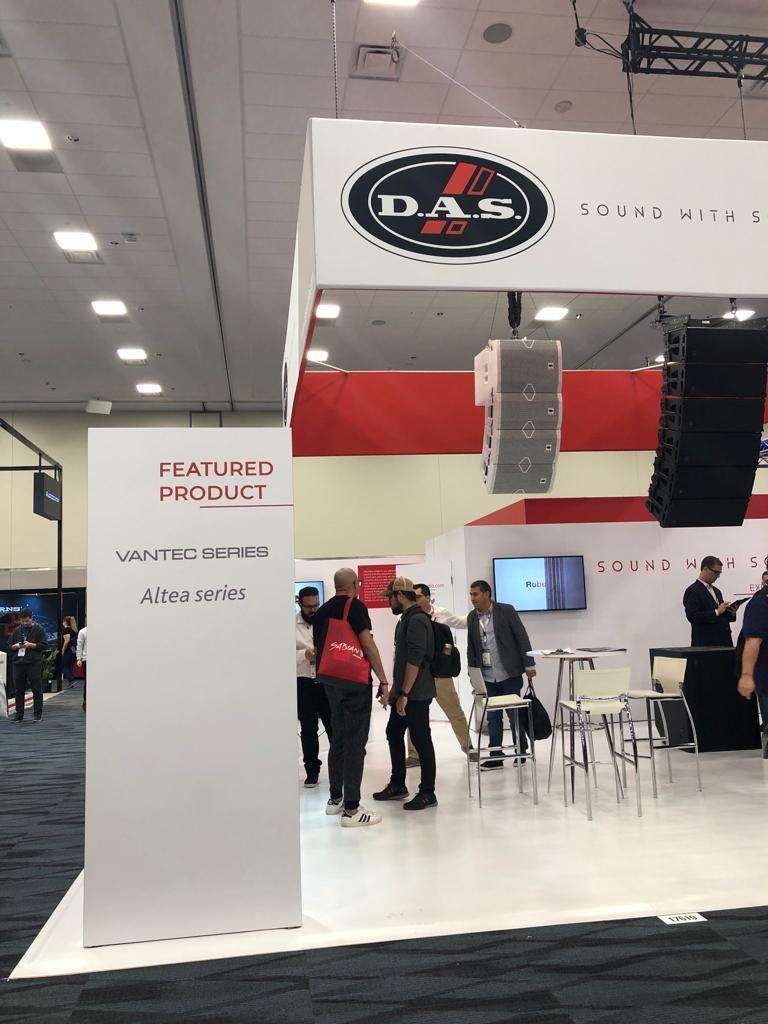 DAS Audio NAMM 2019