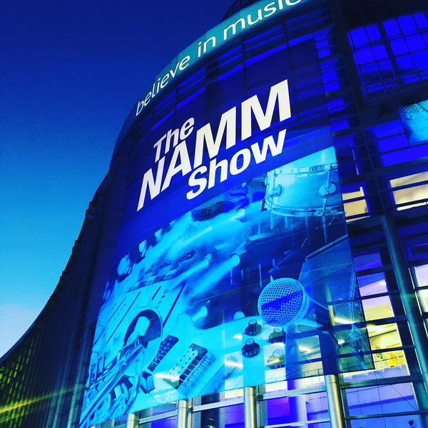 First day at NAMM!