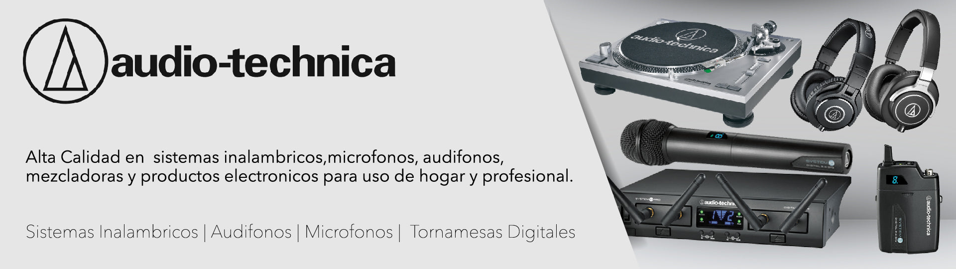 Audio Technica, Hermes Music Banner