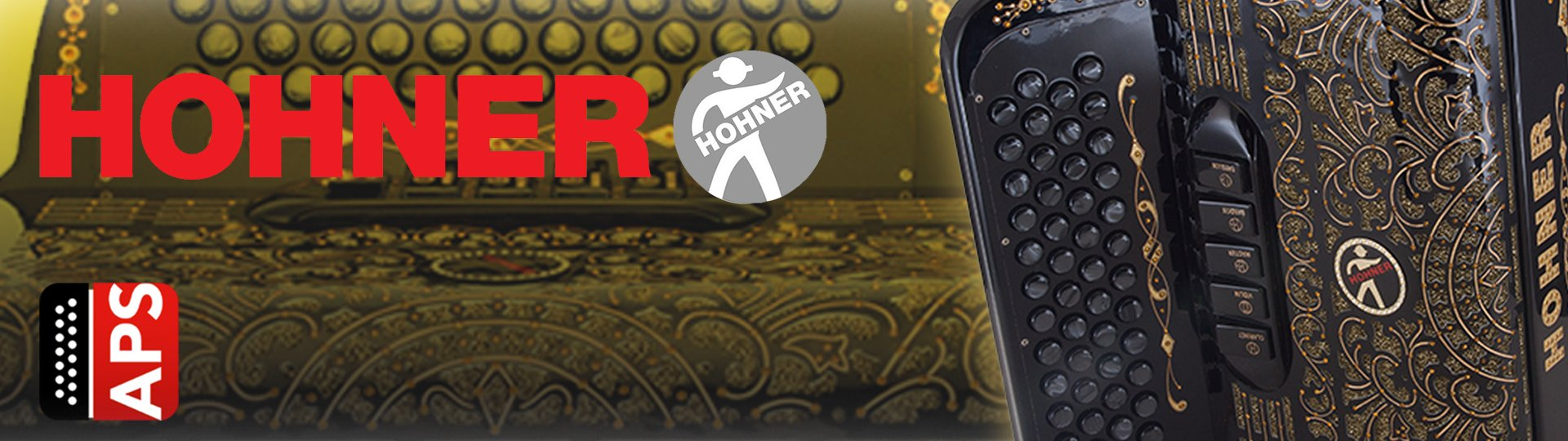 Coleccion Acordeon Hohner Hermes Music Banner