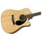 Fender CD-60SCE Guitarra Electroacústica Dreadnought