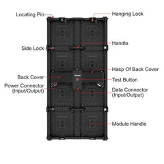 Prolight Blackpanel LS 595 LED Panel Package  LS595 X12-550DS