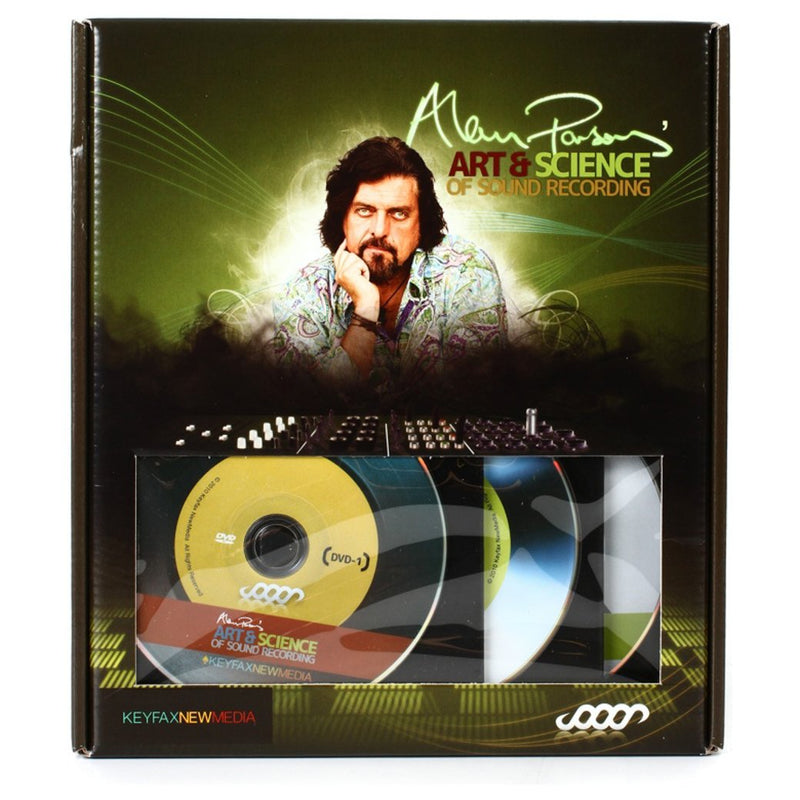 DVD Art and Science of Recording de Alan Parsons