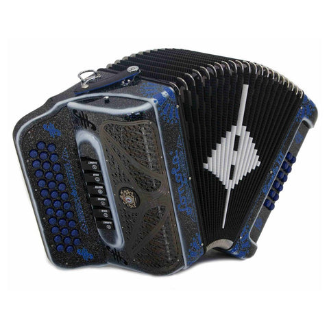 Sonola Loreto III Tonos Fa Y Mi 6 Registros Accordeon