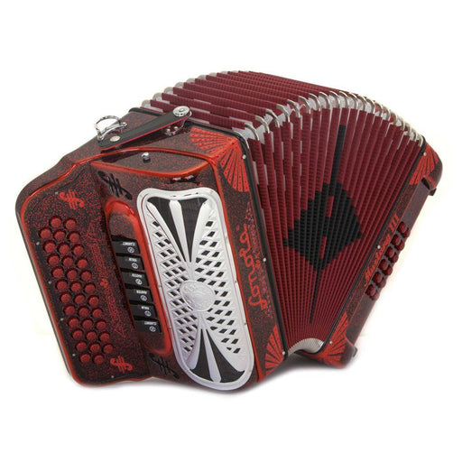 Sonola Mustang 2 Tonos Fa Y Sol 6 Registros Accordeon