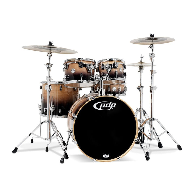 Drum Workshop PDP Bateria de 5 Piezas Natural a Carbon
