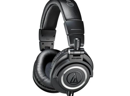 Audio Technica ATH-M50X Audifonos De Monitor Con Cables Desconectable - Negro