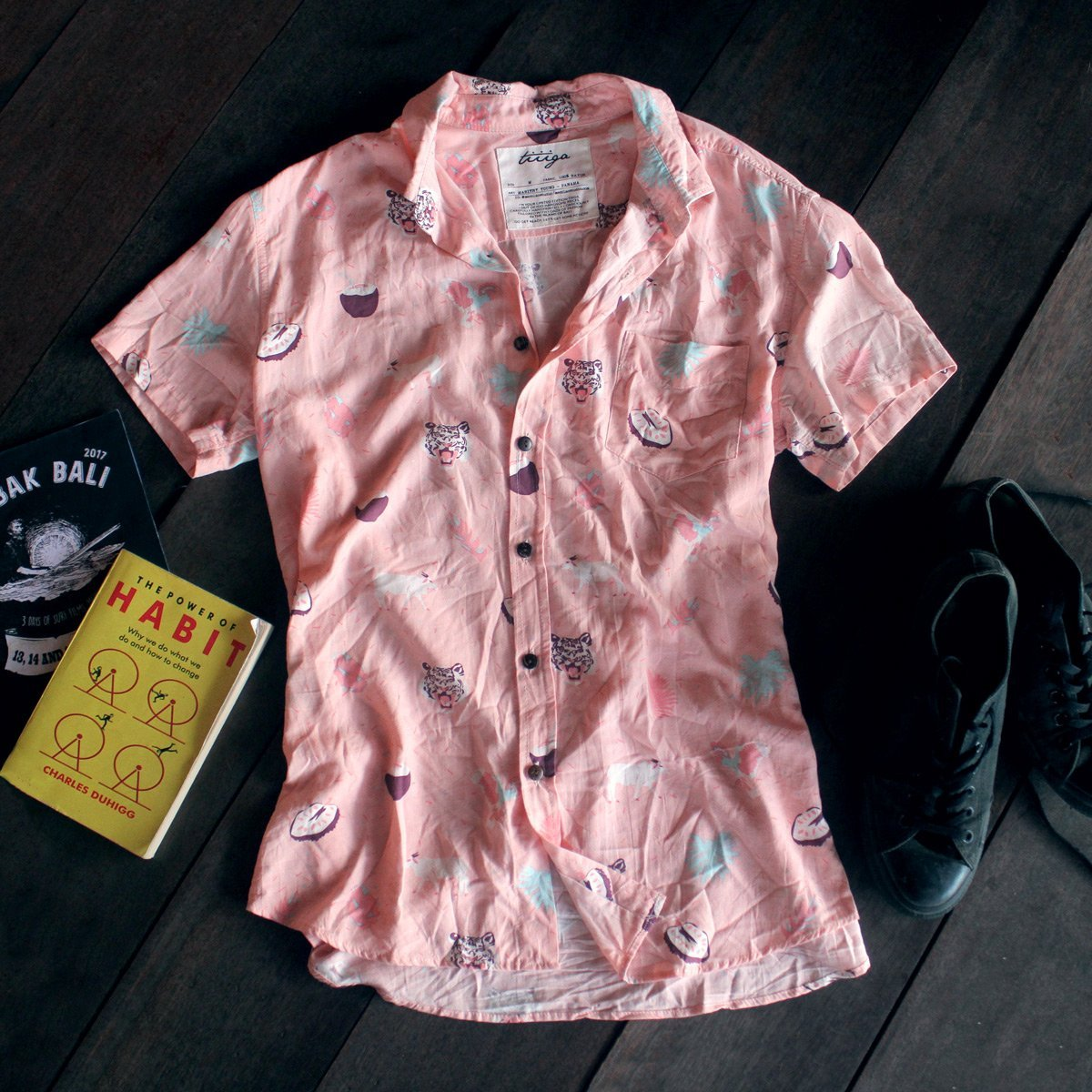 The Bumbak Unisex SS - Pink