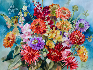 Poster - Sommer Bouquet (Summer Bouquet)