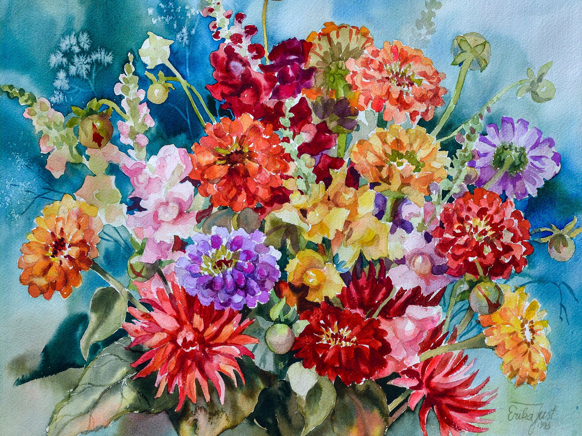Original - Sommer Bouquet (Summer Bouquet)