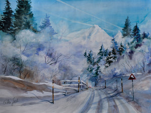 Canvas Print - Winter In Austria