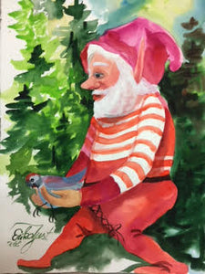 Gnome Print ' Dr. Animal Rupert.  (Veterinarian)'