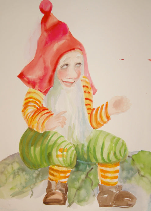 Original - Gnome 'Economic Minister Mr. Clothsocks'