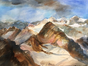 Original - Im Gebirge in Pitztal (In The Mountains)